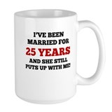 25 years Large Mugs (15 oz)