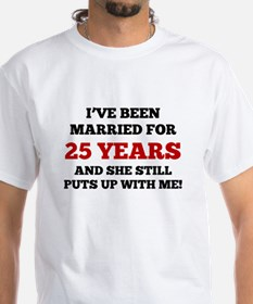 Ive Been Married For 25 Years T-Shirt