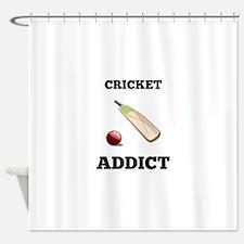 Cricket Addict Shower Curtain
