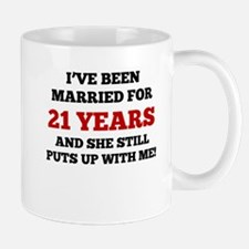 Ive Been Married For 21 Years Mugs