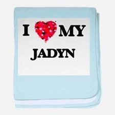 I love my Jadyn baby blanket