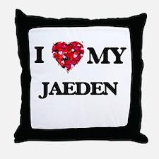 I love my Jaeden Throw Pillow