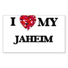 I love my Jaheim Decal