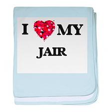 I love my Jair baby blanket
