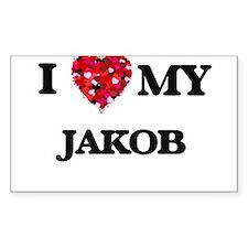 I love my Jakob Decal