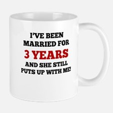 Ive Been Married For 3 Years Mugs