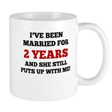 Ive Been Married For 2 Years Mugs