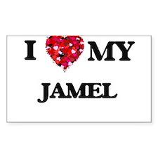 I love my Jamel Decal