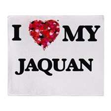 I love my Jaquan Throw Blanket