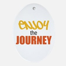 Enjoy The Journey Ornament (Oval)