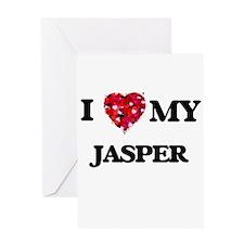 I love my Jasper Greeting Cards