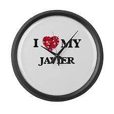 I love my Javier Large Wall Clock