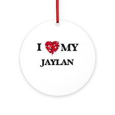 I love my Jaylan Ornament (Round)