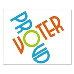 Proud Voter Poster (Small)