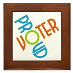 Proud Voter Tile (Framed)