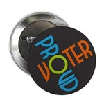 Proud Voter Buttons (100 pk)