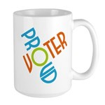 Proud Voter Large Mug