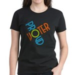 Proud Voter Women's T-Shirt (Dark)