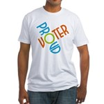 Proud Voter Men's Fitted T Shirt