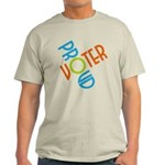 Proud Voter T-Shirt (Light)