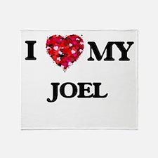I love my Joel Throw Blanket