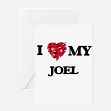 I love my Joel Greeting Cards
