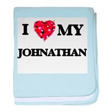 I love my Johnathan baby blanket