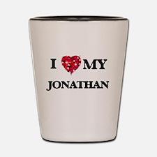 I love my Jonathan Shot Glass