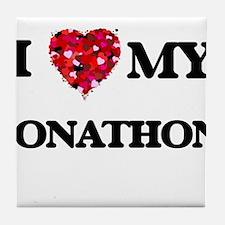 I love my Jonathon Tile Coaster