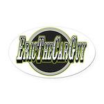 ETCG Circle 20125 Oval Car Magnet