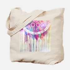 Urban Abstract Art Painting Illustration Tote Bag
