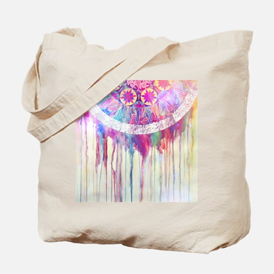 Urban Abstract Art Painting Illustration Tote Bag