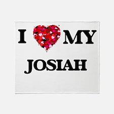 I love my Josiah Throw Blanket