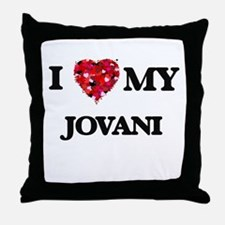 I love my Jovani Throw Pillow