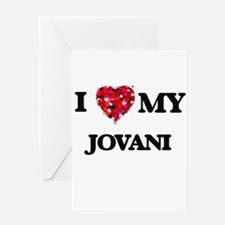 I love my Jovani Greeting Cards
