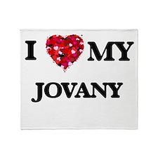 I love my Jovany Throw Blanket