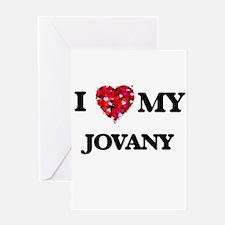 I love my Jovany Greeting Cards