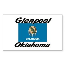 Glenpool Oklahoma Rectangle Decal