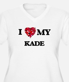 I love my Kade Plus Size T-Shirt