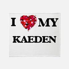 I love my Kaeden Throw Blanket