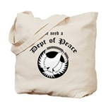 Department of Peace Tote Bag