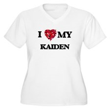 I love my Kaiden Plus Size T-Shirt