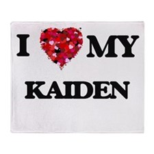 I love my Kaiden Throw Blanket