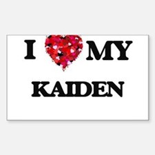 I love my Kaiden Decal