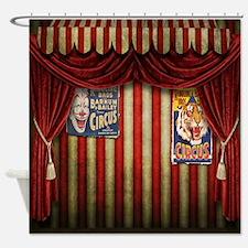 Unique Circus Shower Curtain