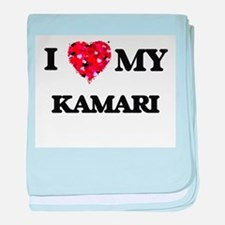 I love my Kamari baby blanket