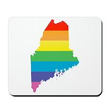 maine rainbow Mousepad