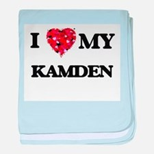 I love my Kamden baby blanket