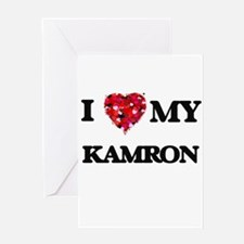 I love my Kamron Greeting Cards