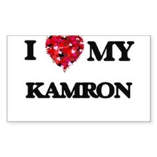 I love my Kamron Decal